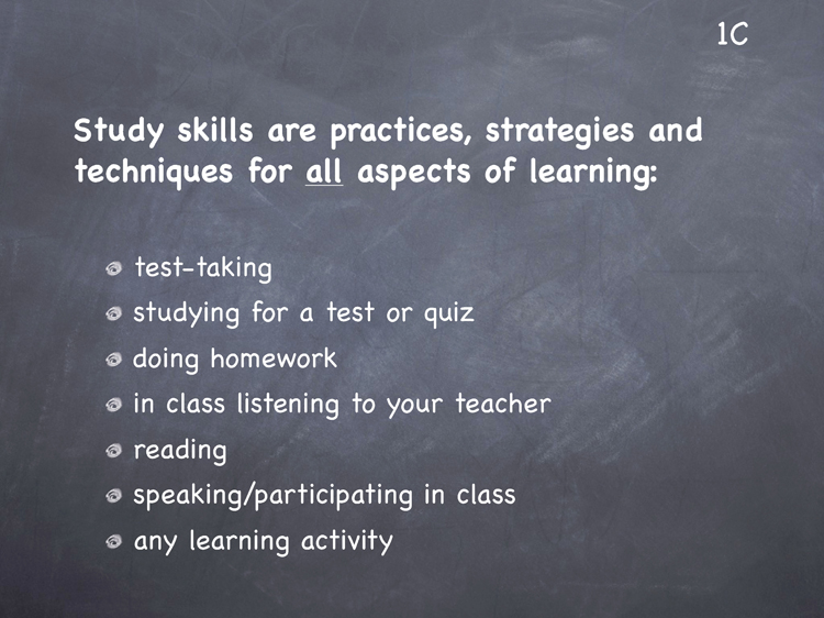 Lesson 1 - Study Skills Classroom Slides - page3