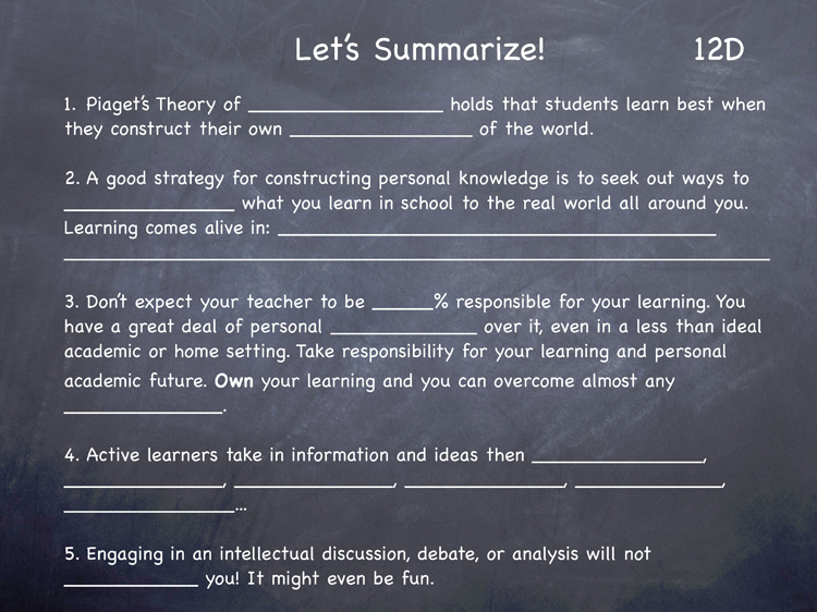 Lesson 12 - Study Skills Classroom Slides - page4