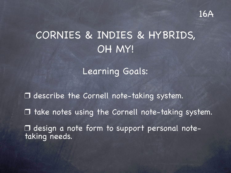 Lesson 16 - Study Skills Classroom Slides - page1