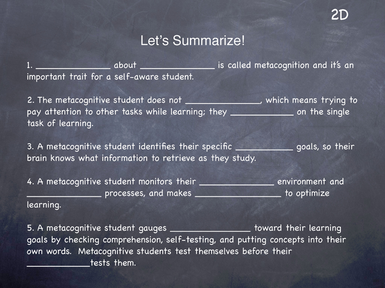 Lesson 2 - Study Skills Classroom Slides - page4