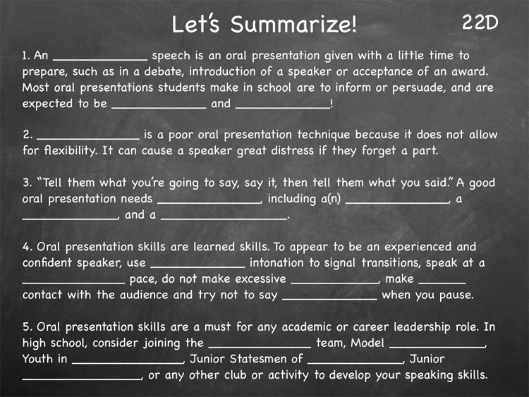 Lesson 22 - Study Skills Classroom Slides - page4