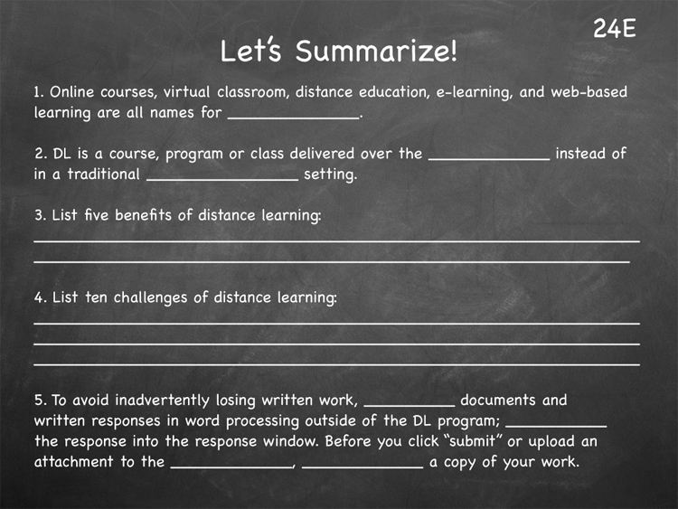 Lesson 24 - Study Skills Classroom Slides - page5